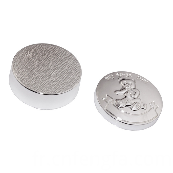 Cheap zinc alloy curl box